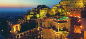 Neemrana Fort-A Perfect Place to Celebrate the magnificence of Seven Vows